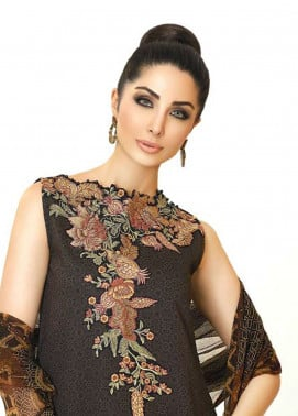 Zarqash Embroidered Lawn Unstitched 3 Piece Suit ZQ18L 10A - Spring / Summer Collection