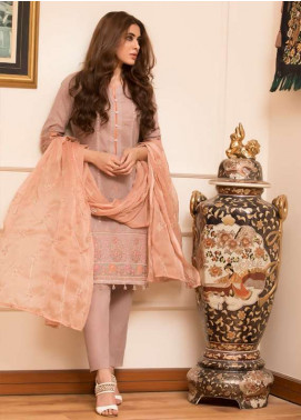 Maira Ahsan Embroidered Lawn Unstitched 3 Piece Suit MA18L 04 - Spring / Summer Collection