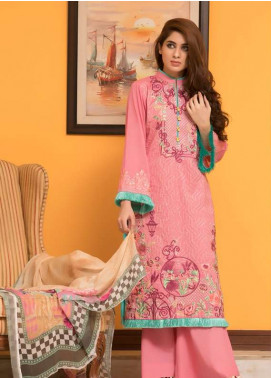 Maira Ahsan Embroidered Lawn Unstitched 3 Piece Suit MA18L 10 - Spring / Summer Collection