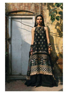 Zara Shahjahan Embroidered Lawn Unstitched 3 Piece Suit ZS17E2 Amaltas