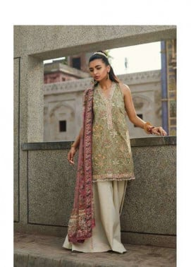 Zara Shahjahan Embroidered Lawn Unstitched 3 Piece Suit ZS17E2 Kishmish