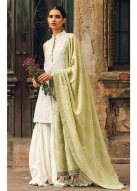 Zara Shahjahan Embroidered Lawn Unstitched 3 Piece Suit ZS17L Chandni