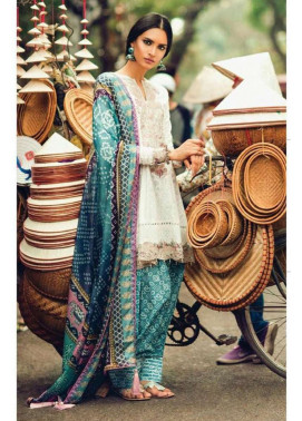 Zara Shahjahan Embroidered Lawn Unstitched 3 Piece Suit ZS17L Enchanted Jaipur
