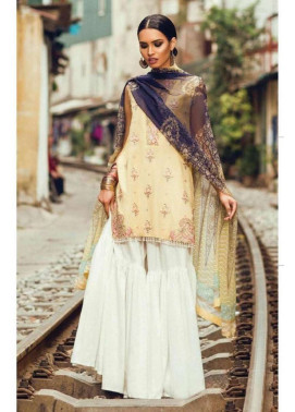 Zara Shahjahan Embroidered Lawn Unstitched 3 Piece Suit ZS17L Pashmeena