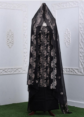 Zum Zum Embroidered Chikankari Unstitched 3 Piece Suit ZZ20CK ZmCh-16 - Summer Collection