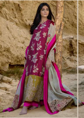 ZUNUJ Embroidered Lawn Unstitched 3 Piece Suit ZJ20S 2 - Spring / Summer Collection