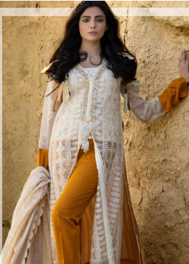 ZUNUJ Embroidered Lawn Unstitched 3 Piece Suit ZJ20S 3 - Spring / Summer Collection