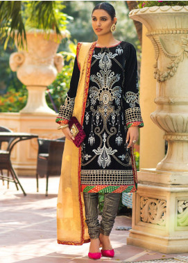 Zurich by ZS Textiles Embroidered Velvet Unstitched 3 Piece Suit ZS20Z 03 - Winter Collection