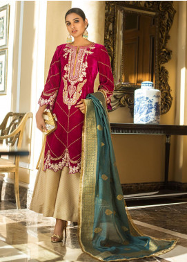 Zurich by ZS Textiles Embroidered Velvet Unstitched 3 Piece Suit ZS20Z 06 - Winter Collection