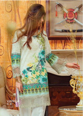 Zyra by Tarzz Printed Lawn Unstitched Kurties TRZ20Z L20-S2-01 - Spring / Summer Collection