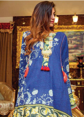 Zyra by Tarzz Printed Lawn Unstitched Kurties TRZ20Z L20-S2-04 - Spring / Summer Collection