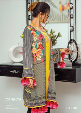 Zyra by Tarzz Printed Lawn Unstitched Kurties TRZ20Z L20-S2-14 - Spring / Summer Collection