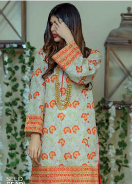 Zyra by Tarzz Printed Lawn Unstitched Kurties TRZ20Z L20-S2-17 - Spring / Summer Collection