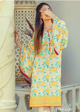 Zyra by Tarzz Printed Lawn Unstitched Kurties TRZ20Z L20-S2-18 - Spring / Summer Collection