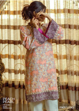 Zyra by Tarzz Printed Lawn Unstitched Kurties TRZ20Z L20-S2-20 - Spring / Summer Collection