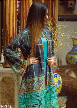 Zyra by Tarzz Printed Lawn Unstitched Kurties TRZ20Z L20-S2-25 - Spring / Summer Collection