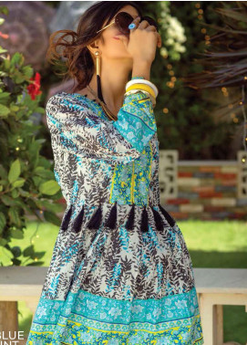 Zyra by Tarzz Printed Lawn Unstitched Kurties TRZ20Z L20-S2-29 - Spring / Summer Collection