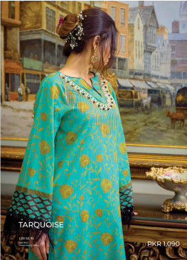 Zyra by Tarzz Printed Lawn Unstitched Kurties TRZ20Z L20-S2-35 - Spring / Summer Collection