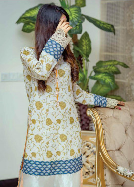 Zyra by Tarzz Printed Lawn Unstitched Kurties TRZ20Z L20-S2-36 - Spring / Summer Collection