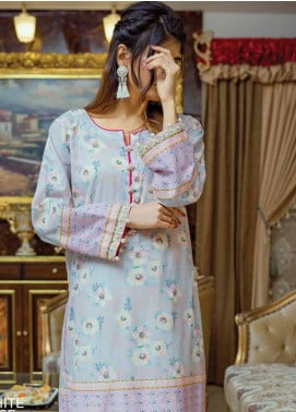 Zyra by Tarzz Printed Lawn Unstitched Kurties TRZ20Z L20-S2-39 - Spring / Summer Collection