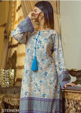 Zyra by Tarzz Printed Lawn Unstitched Kurties TRZ20Z L20-S2-40 - Spring / Summer Collection