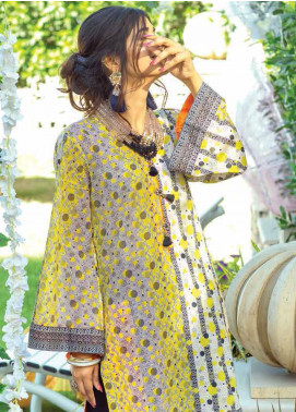 Zyra by Tarzz Printed Lawn Unstitched Kurties TRZ20Z L20-S2-41 - Spring / Summer Collection