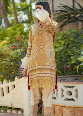Zyra by Tarzz Printed Lawn Unstitched Kurties TRZ20Z L20-S2-11 - Spring / Summer Collection