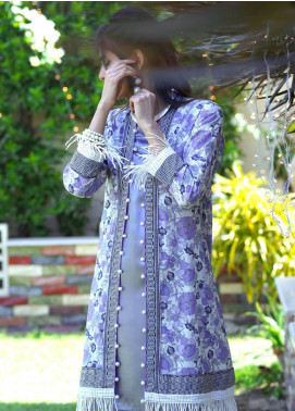 Zyra by Tarzz Printed Lawn Unstitched Kurties TRZ20Z L20-S2-43 - Spring / Summer Collection