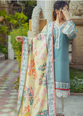 Zyra by Tarzz Printed Lawn Unstitched 3 Piece Suit TRZ20Z L20-S2-51 - Spring / Summer Collection