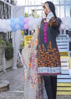 Zyra by Tarzz Printed Lawn Unstitched 3 Piece Suit TRZ20Z L20-S2-52 - Spring / Summer Collection