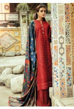 RajBari Embroidered Karandi Unstitched 3 Piece Suit RB20PW D-06-B - Winter Collection