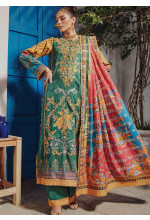 Florence by Rang Rasiya Embroidered Cottel Linen Unstitched 3 Piece Suit RR20LF 633 Nayaab - Festive Collection