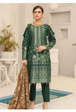 Shahnameh by Riaz Arts Broschia Banarsi Linen Unstitched 3 Piece Suit RA20-SN2 17 - Winter Collection