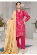 Shahnameh by Riaz Arts Broschia Banarsi Linen Unstitched 3 Piece Suit RA20-SN2 18 - Winter Collection