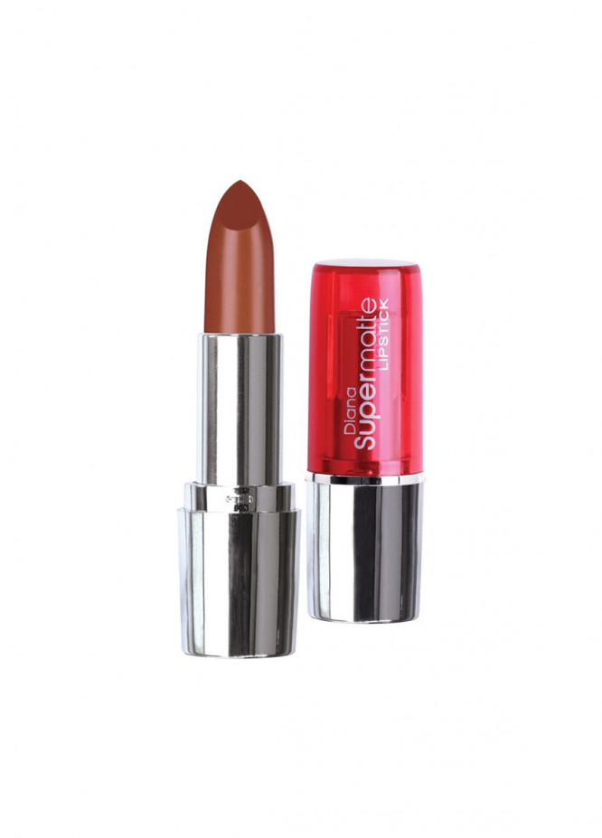 Diana Of London Super Matte Lipstick - 14 Coffee Creme