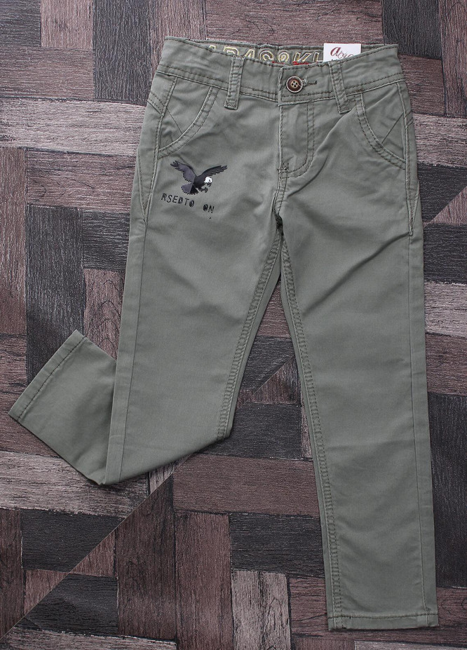 Sanaulla Exclusive Range Denim Jeans Pants for Boys -  M5 Dark Green