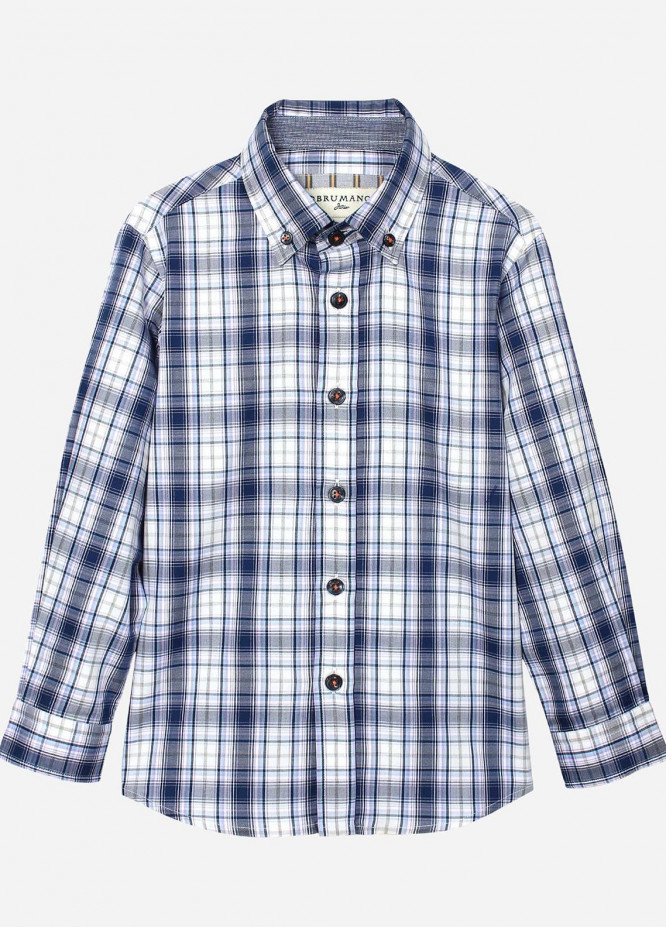 Brumano Cotton Casual Shirts for Boys -  BRM-814