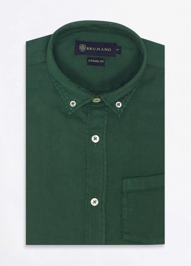 Brumano Cotton Formal Men Shirts -  BRM-852-Green