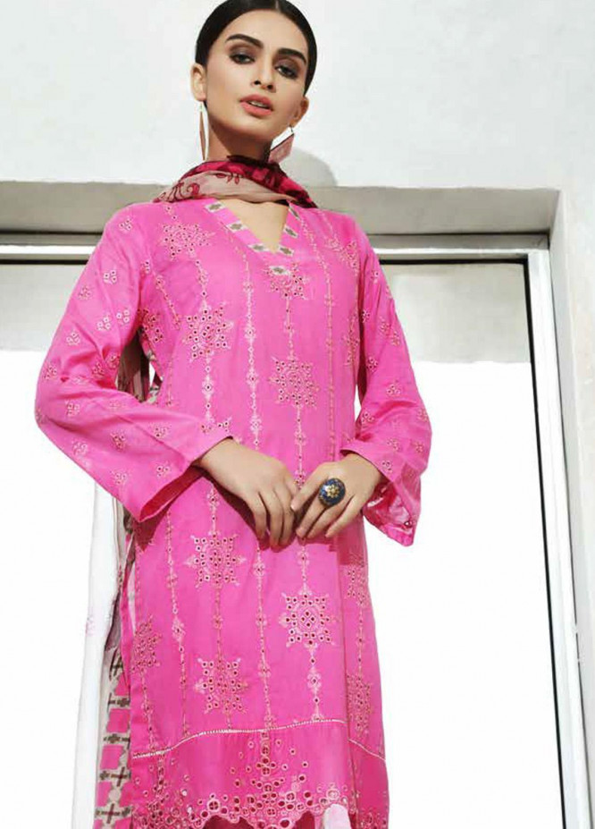 Charizma Embroidered Lawn Unstitched 3 Piece Suit CRZ20-N2 59 - Summer Collection