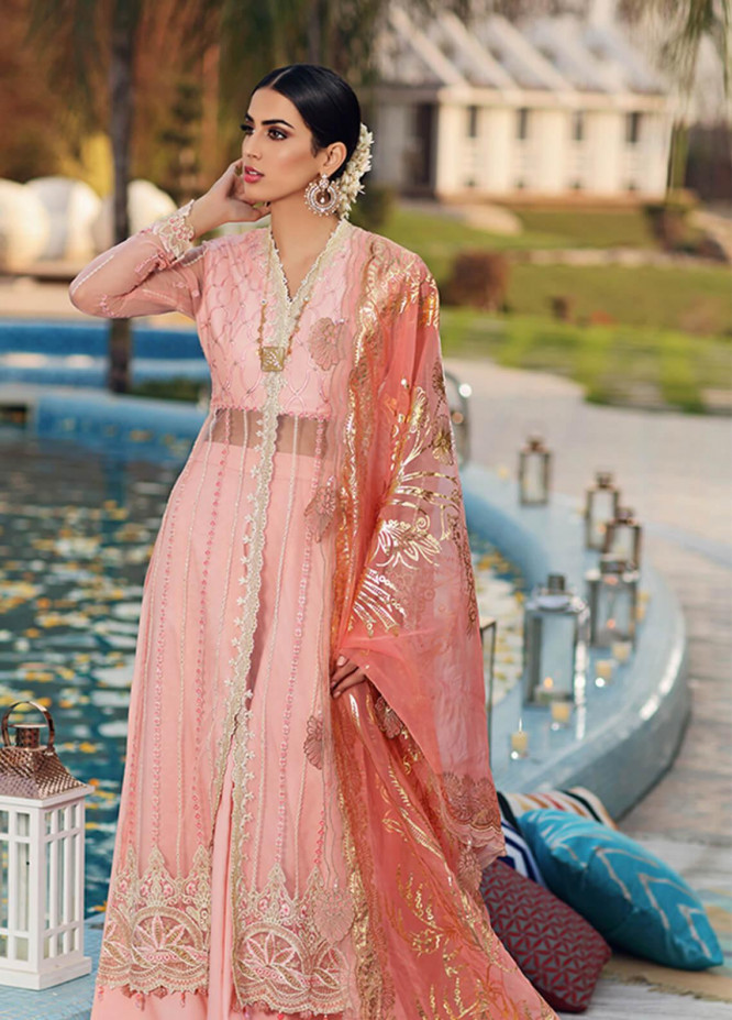 Firaaq by Anaya Embroidered Lawn Unstitched 3 Piece Suit F20AKC 06 Shazreh - Luxury Collection