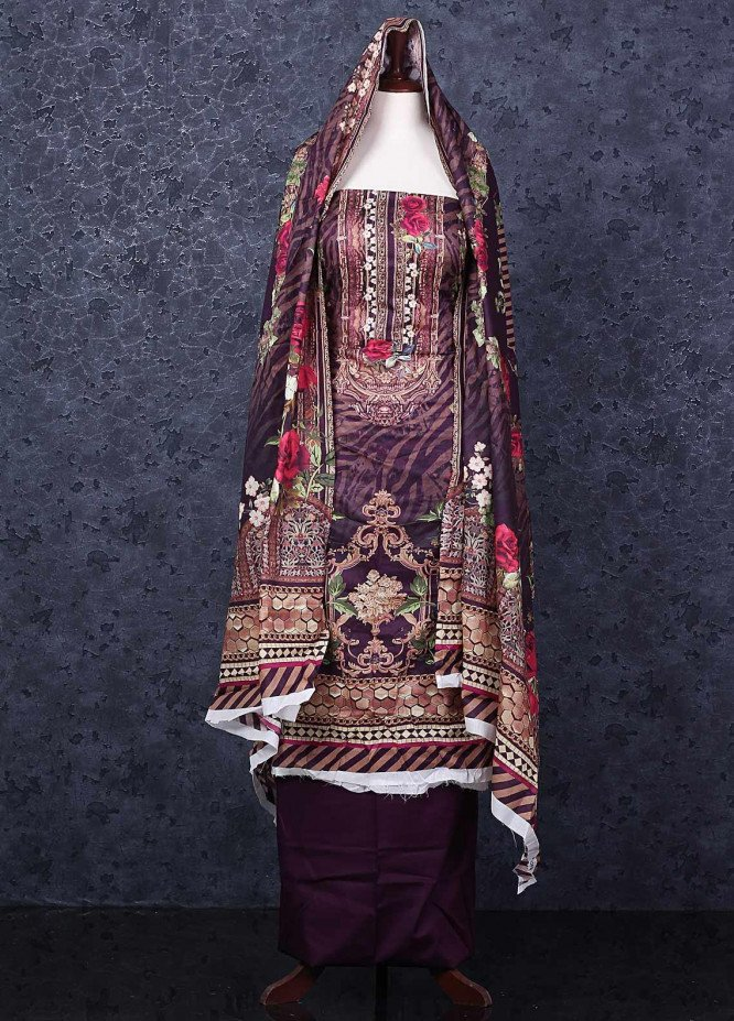 Firdous Fashion Printed Lawn Unstitched 3 Piece Suit FR20D 1102A - Spring / Summer Collection