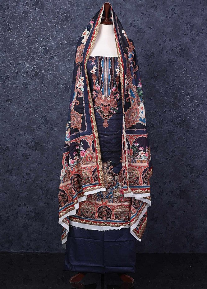 Firdous Fashion Printed Lawn Unstitched 3 Piece Suit FR20D 1114A - Spring / Summer Collection