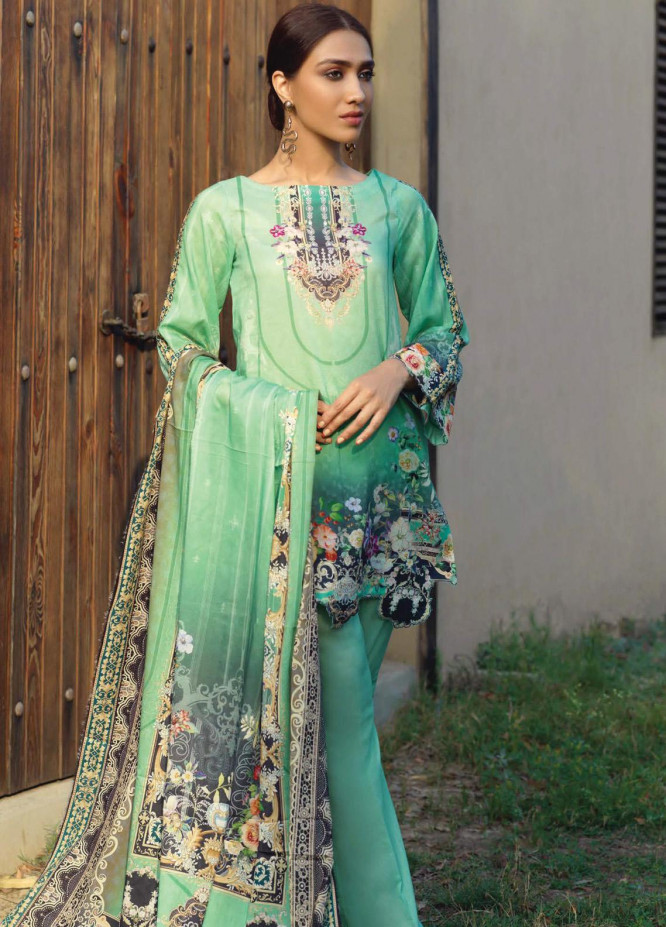 Firdous Fashion Printed Lawn Unstitched 3 Piece Suit FR20D 1133B - Spring / Summer Collection