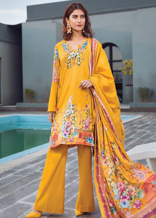 Firdous Fashion Printed Lawn Unstitched 3 Piece Suit FR20L-1 702A - Spring / Summer Collection