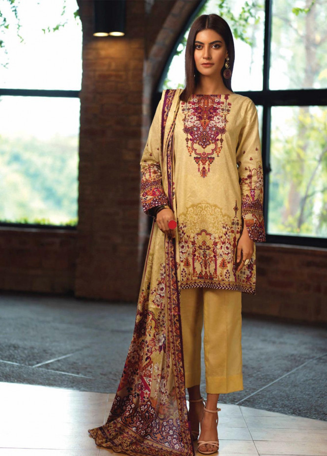 Firdous Fashion Printed Lawn Unstitched 3 Piece Suit FR20L-2 712A - Spring / Summer Collection