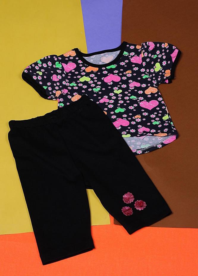 Sanaulla Exclusive Range Cotton Casual Girls Suit -  22322-3 Multi