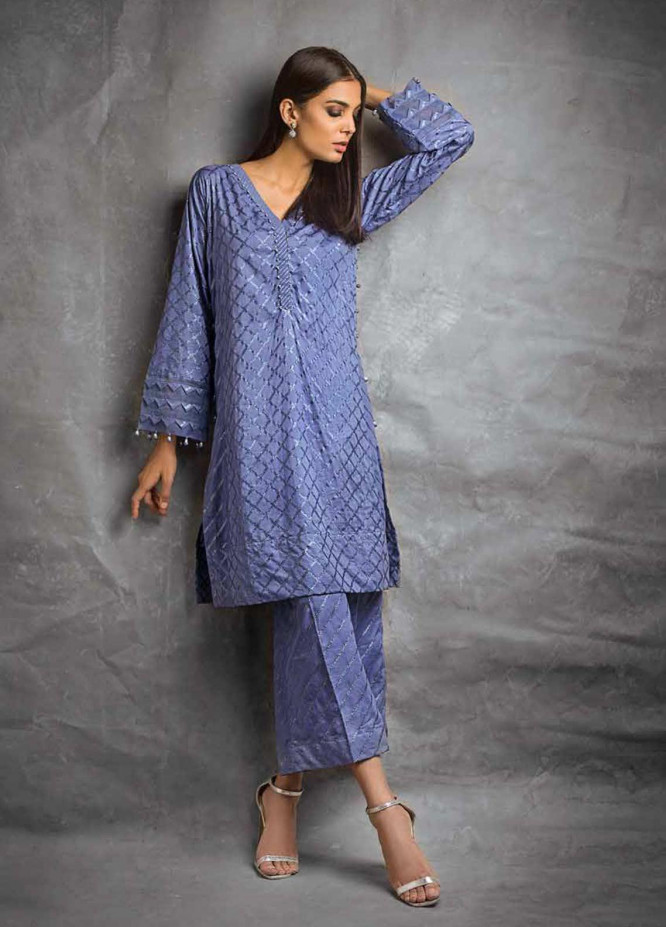 Gul Ahmed Printed Lawn Unstitched 2 Piece Suit GAG19F EA-90 - Festive Collection