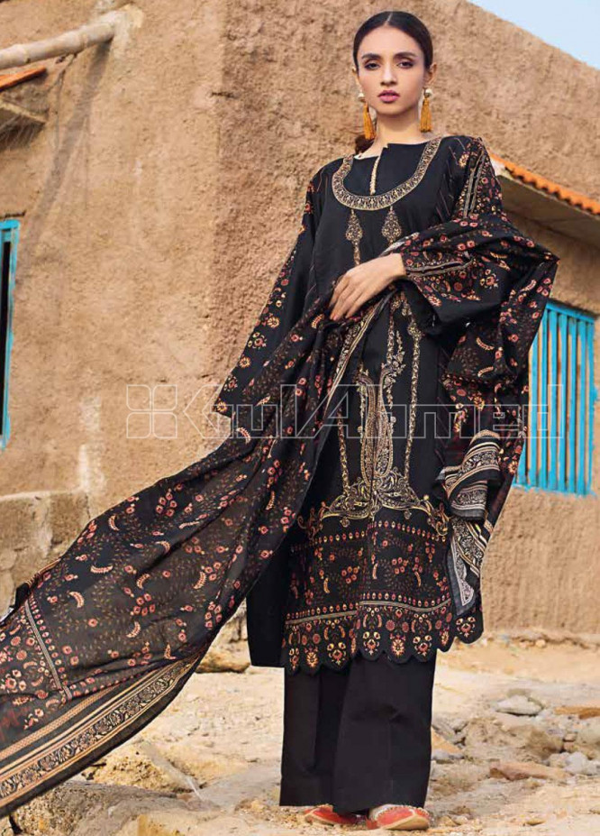 Gul Ahmed Printed Lawn Unstitched 3 Piece Suit GA20SBL CL 882 - Summer Collection