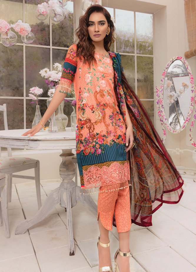 Gulaal Embroidered Lawn Unstitched 3 Piece Suit GL19C V1 05 - Lawn Collection