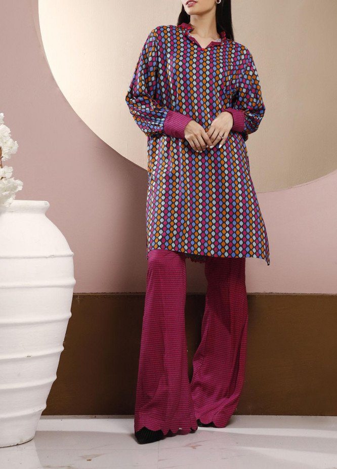 Heena by Ittehad Textiles Printed Linen Unstitched 2 Piece Suit ITD20HL 1911-C - Summer Collection